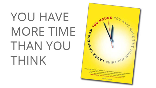 168 hours - you have more time than you think