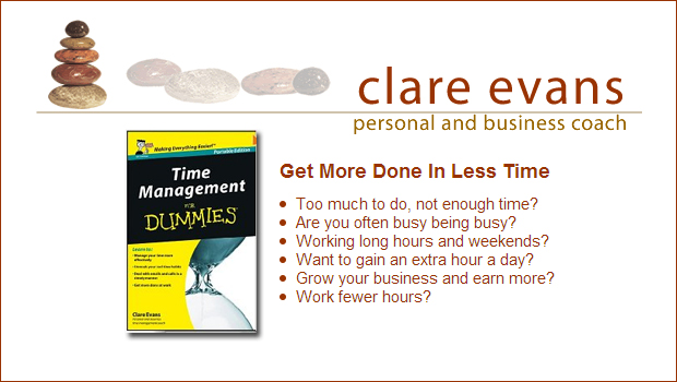 Top Tips for Busy Mums – Clare Evans