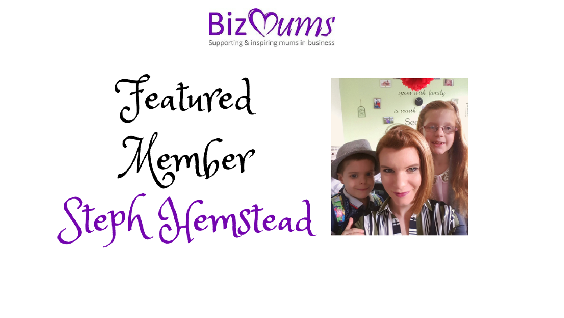 Featured Member – Stephanie Hemsted